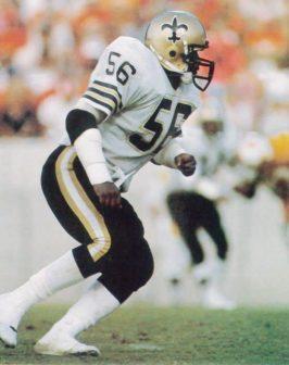 Dennis Winston New Orleans Saints Linebacker 1982-1985