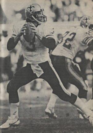 New Orleans Saints QB Bobby Hebert