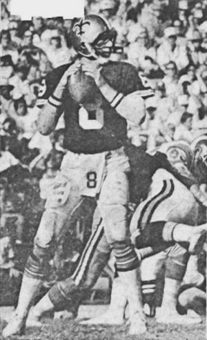 Archie Manning Quarterback Saints in 1978
