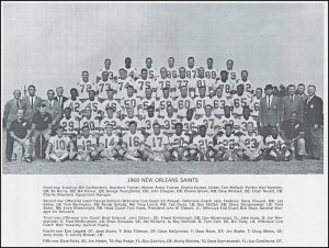 1968 New Orleans Saints Team Photo