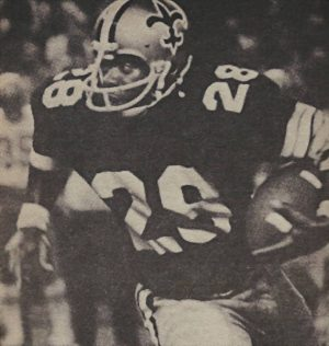 Alvin Maxson New Orleans Saints 1974 to 1976