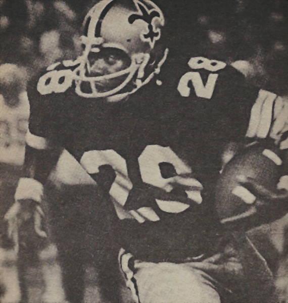 Alvin Maxson New Orleans Saints 1974 to 1976