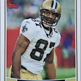Joe Horn 2006 New Orleans Saints Topps Football Card