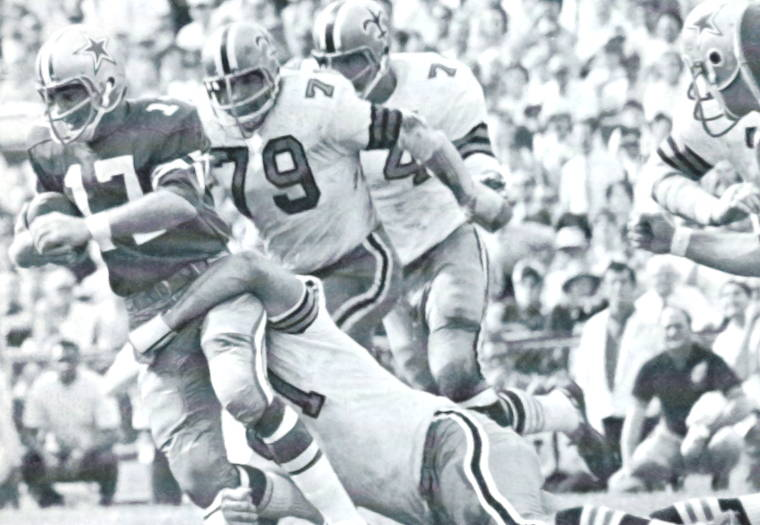 1968 Saints Defense Brings Down Don Meredith