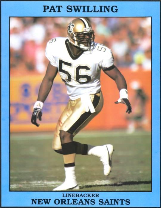 Pat Swilling 1991 NFL Sack Leader