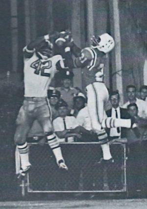 John Gilliam, New Orleans Saints versus Boston Patriots, 1968 Preseason