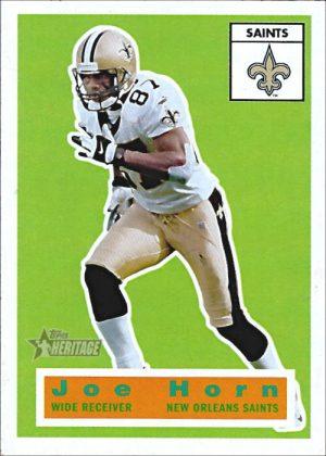 Joe Horn 2001 New Orleans Saints Topps Hertitage Football Card #12