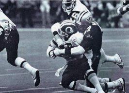 Jumpy Geathers 1986 New Orleans Saints vs Washington Redskins