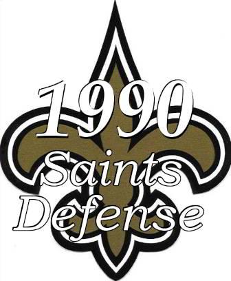 1990 New Orleans Saints Defense Stats