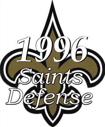 1996 New Orleans Saints Defensive Statistics
