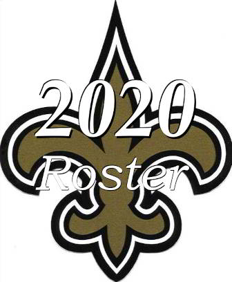 The 2020 New Orleans Saints NFL Season Team Roster