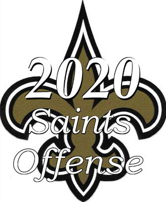 2020 New Orleans Saints Offensive Statistics