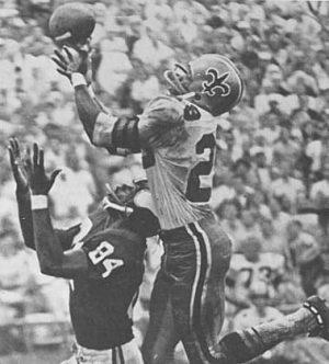 New Orleans Saints Cornerback Gene Howard
