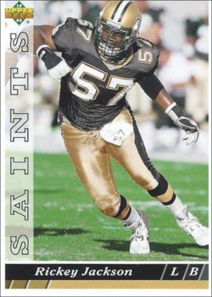 Rickey Jackson 1993 New Orleans Saints Upper Deck Football Card #278