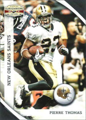 Pierre Thomas 2010 Panini Gridiron Gear Football Card #93