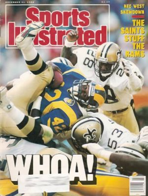New Orleans Saints on the Cover of Sports Illustrated in 1988
