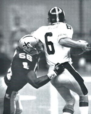 Pat Swilling Sacks Bubby Brister in Saints vs Steelers 1988 Preseason