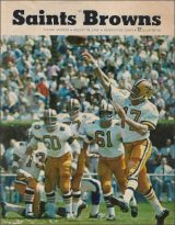 Pre-Season Game Program against the Browns at Tulane Stadium